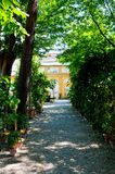 Jardim botânico, Florença, Firenze, Itália, Italia Fotografia de Stock