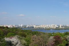 Jardim botânico nomeado após Grishko em Kiev imagens de stock royalty free
