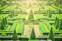 Jardim botânico tropical de Nong Nooch Imagem de Stock