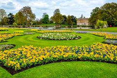 Jardim bot?nico de Kew na mola, Londres, Reino Unido fotografia de stock royalty free