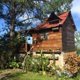 A Jardim-cabine de Capulalpam de Méndez imagem de stock royalty free