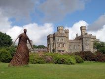 Jardim, castelo de Lews, Stornoway, ilha de Lewis Imagens de Stock Royalty Free