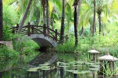 Jardim chinês clássico, China Imagens de Stock Royalty Free
