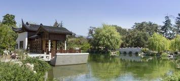 Jardim chinês da lagoa Foto de Stock Royalty Free