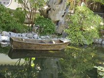 Jardim chinês de BeautifulLan SU em Portland Imagens de Stock Royalty Free