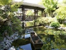 Jardim chinês de BeautifulLan SU em Portland Fotografia de Stock