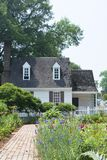 Jardim colonial Foto de Stock Royalty Free