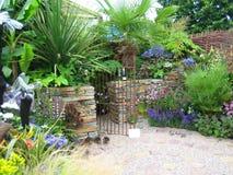 Jardim colorido fotografia de stock royalty free