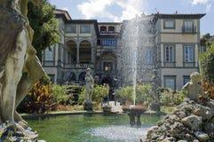 Jardim com estado em Lucca Imagens de Stock