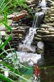 Jardim da água fotografia de stock