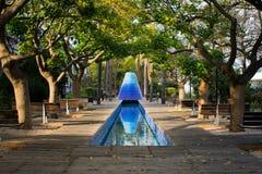 Jardim da água Vulcanoes fotografia de stock royalty free