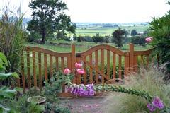 Jardim da casa de campo Fotos de Stock