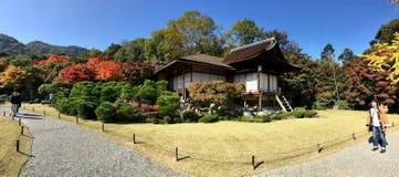 Jardim da casa de campo do sanso de Okochi fotografia de stock