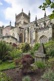Jardim da catedral de Bristal fotos de stock
