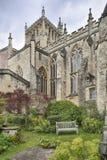 Jardim da catedral de Bristal fotos de stock royalty free