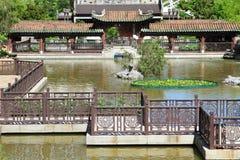 Jardim da cidade em Meifoo, Hong Kong Imagens de Stock Royalty Free