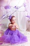 Jardim da criança na primavera Fotos de Stock Royalty Free