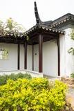 Jardim da expo do jardim do Pequim de China do asiático, construção antiga, corredor Imagens de Stock Royalty Free
