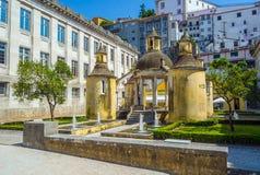 Jardim da Manga av Coimbra portugal Royaltyfri Bild