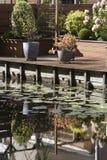 Jardim da margem Fotografia de Stock Royalty Free