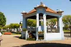 Jardim DA Viana do Castelo marginal foto de archivo