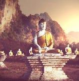 Jardim das Budas Imagem de Stock Royalty Free