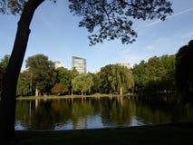 Jardim de Boston Public, Boston, Massachusetts, EUA Imagem de Stock
