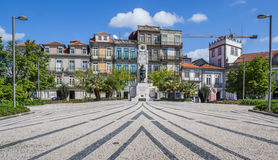 Jardim de Carlos Alberto in Porto Royalty Free Stock Images