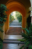 Jardim de Casa de campo Ephrussi de Rotschild Espanhol Imagem de Stock Royalty Free