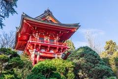 Jardim de chá japonês Imagens de Stock Royalty Free