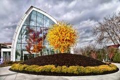 Jardim de Chihuly e vidro, Seattle, WA fotos de stock
