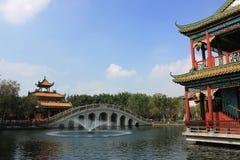 Jardim de China Imagem de Stock