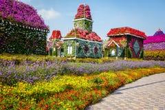 Jardim de Dubai Miiracle Fotos de Stock