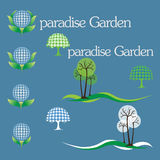 Jardim de Eden Imagem de Stock Royalty Free