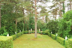 Jardim de Gelnveagh Fotografia de Stock