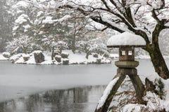 Jardim de Kenrokuen Fotos de Stock