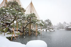 Jardim de Kenrokuen Imagens de Stock Royalty Free