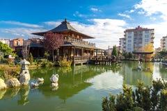 Jardim de Kyoto Japão em Konya Fotos de Stock