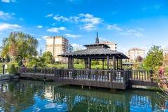 Jardim de Kyoto Japão em Konya Foto de Stock Royalty Free