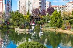 Jardim de Kyoto Japão em Konya Imagem de Stock