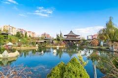 Jardim de Kyoto Japão em Konya Fotografia de Stock Royalty Free