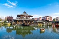 Jardim de Kyoto Japão em Konya Fotos de Stock Royalty Free