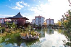 Jardim de Kyoto Japão em Konya Imagens de Stock