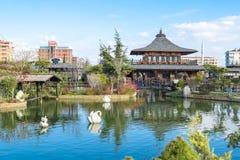 Jardim de Kyoto Japão em Konya Fotografia de Stock