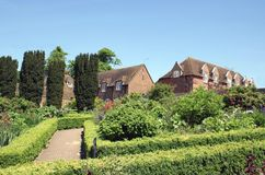 Jardim de Leeds Castle Culpepper em Maidstone, Kent, Inglaterra, Europa Foto de Stock