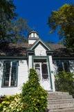 Jardim de madeira da casa de campo em público Imagem de Stock
