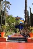 Jardim de Majorelle Fotografia de Stock Royalty Free