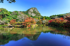 Jardim de Mifuneyama Rakuen Imagens de Stock