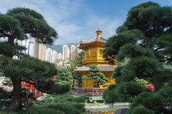Jardim de Nan Lian Fotos de Stock Royalty Free