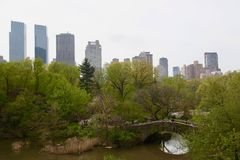 Jardim de New York, Central Park Fotografia de Stock Royalty Free